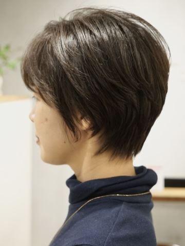 代 あり 50 髪型 ショート 前髪