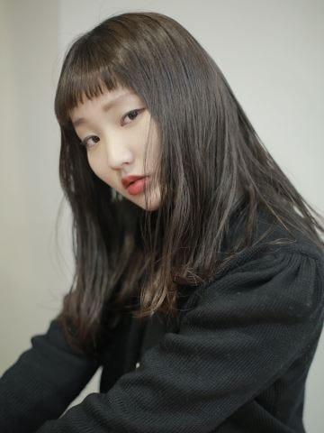 ミディアム 髪型