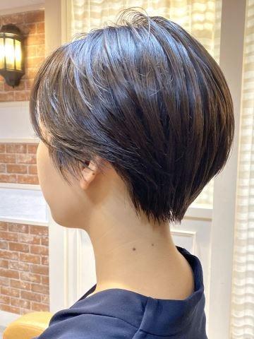 2020年春 50代に似合う髪型 ヘアカタログ ヘアスタイル ショート
