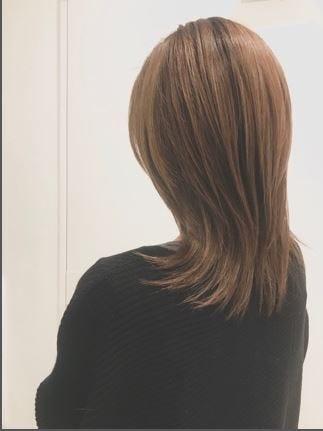2020年冬】50代に似合うセミロングの髪型[ヘアカタログ・ヘア