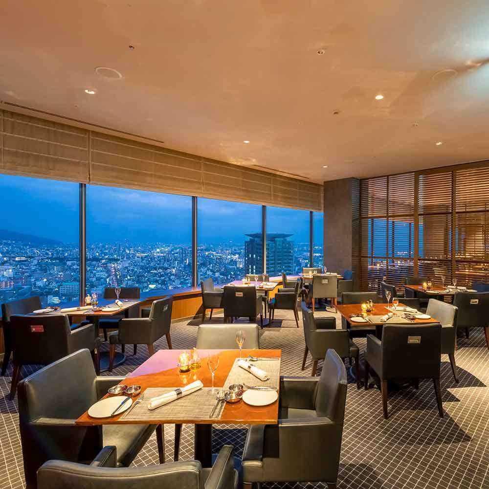 クラウン 神戸 レストラン プラザ ホテル ana